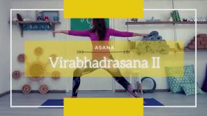 warrior 2, virabhadrasana II