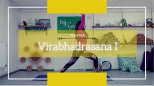warrior 1, virabhadrasana I