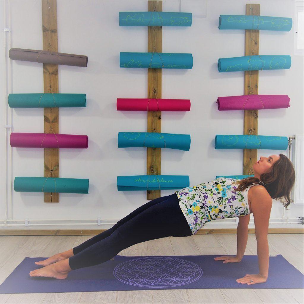 Uppward Plank Pose