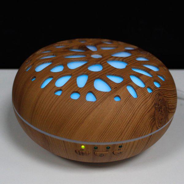 Aroma Diffuser, aromatherapy, aroma diffuser pebble shape, wood aroma diffuser