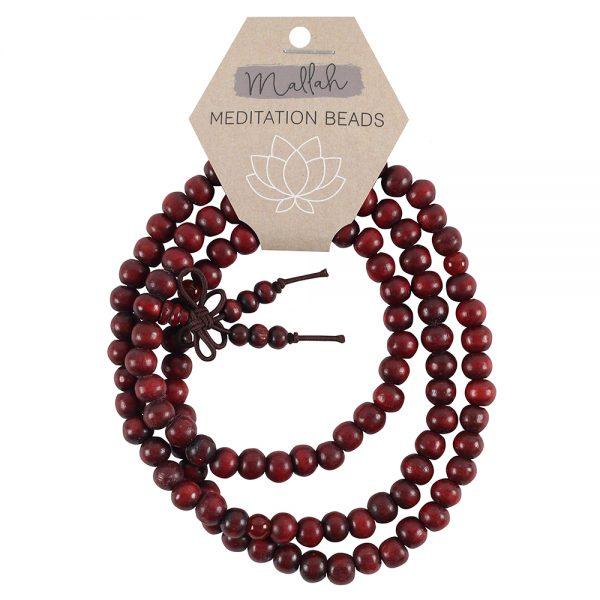 108 wooden beads mala, 108 beads mala for meditation, mallah for meditation