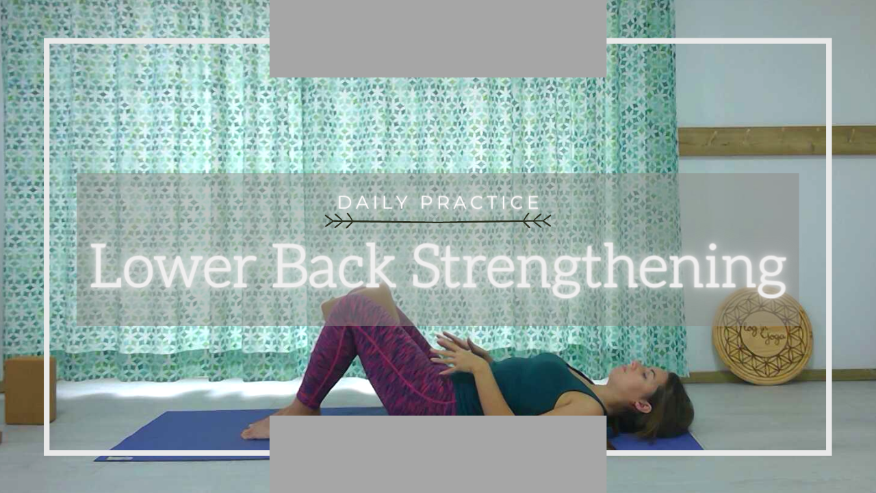 lower back strengthening yoga