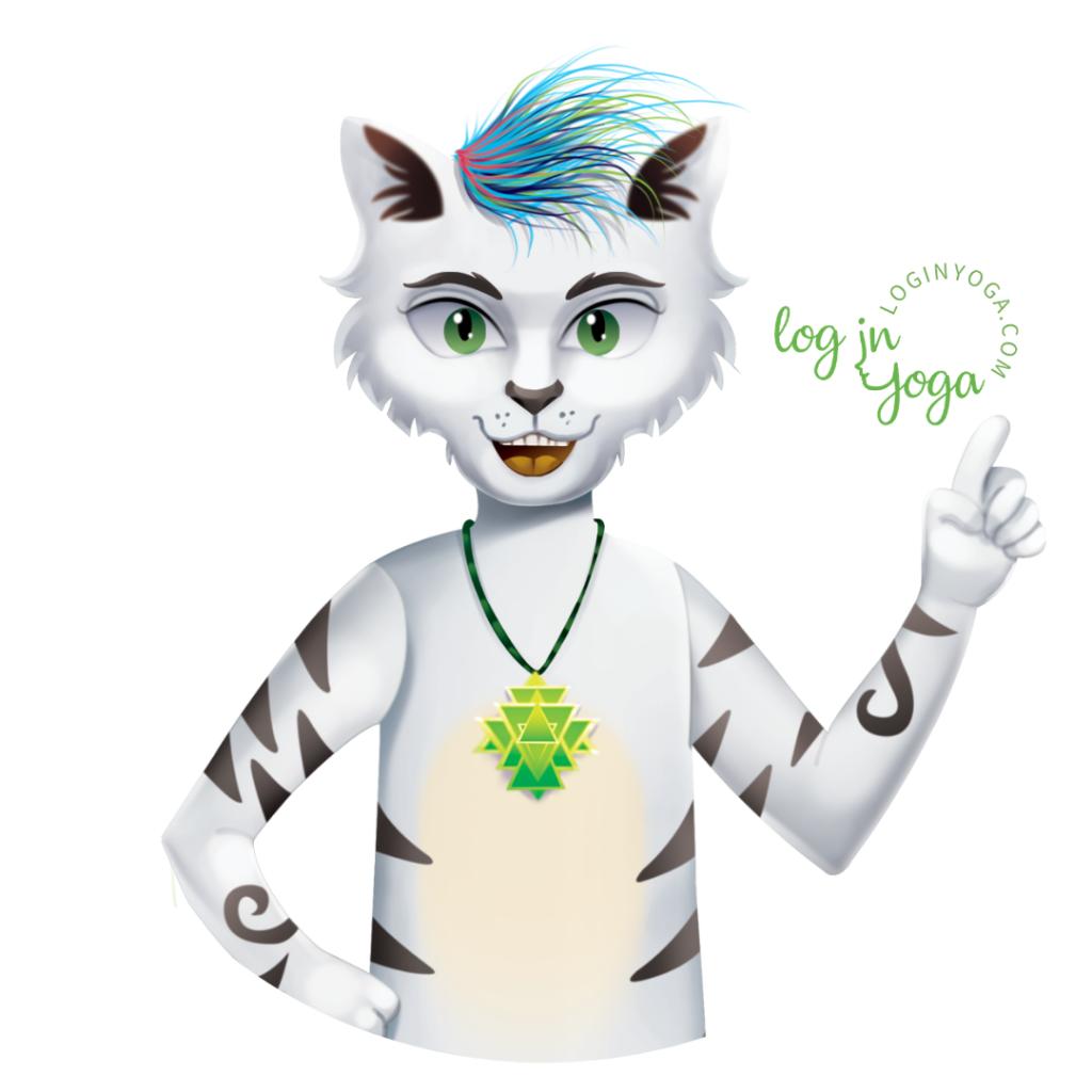 Miau, cat yogi, yogi cat